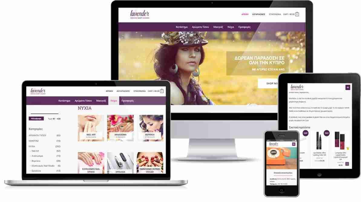 website-design-lavender